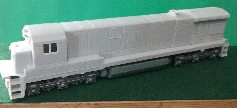HO Scale Conrail C30-7a Engine Shell, by Puttman Locomotive Works