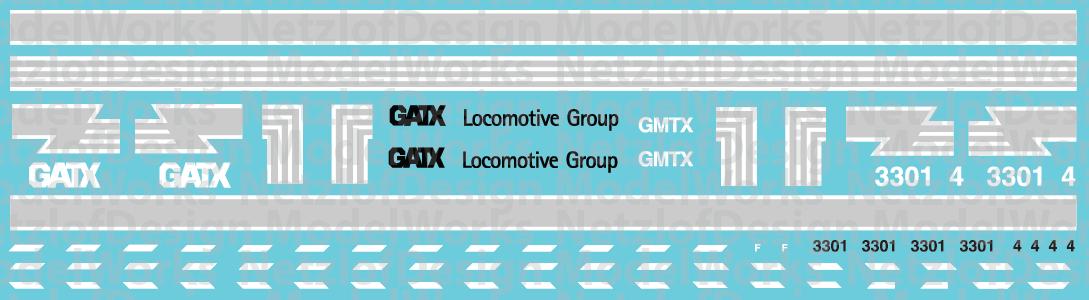HO Scale - GMTX Lease Locomotive exFGLK scheme