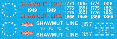 Pittsburg & Shawmut (PS) Bicentennial Locomotives