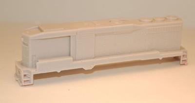N Scale Trains, GP30 B Unit w/ DB Locomotive Shell, by CMR Products