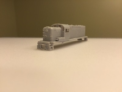 N Scale Trains, RS2M Rock Island Locomotive Shell, by CMR Products