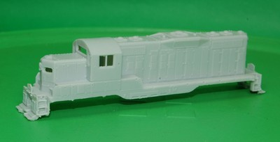 N Scale Trains, Western Maryland GP9 Locomotive Shell, by CMR Products
