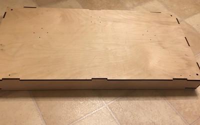 N Scale T-TRAK Turn End Cap Module