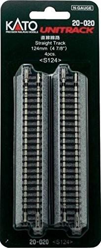 Kato Unitrack Straight 124mm Package