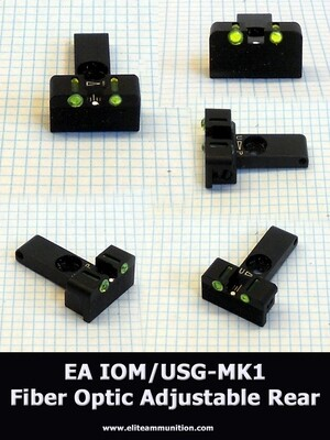 EA USG Fiber Optic Adjustable Sights