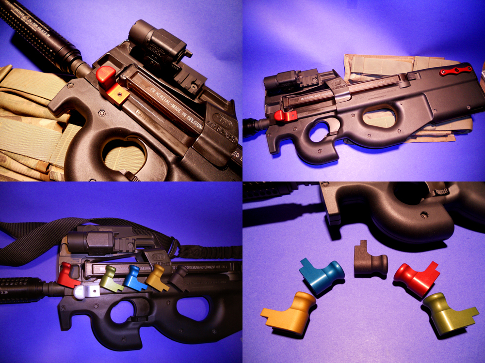 GREEN Elite Ammunition Extended Charging Handle