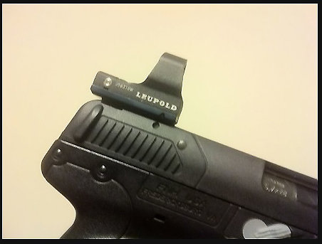 LEUPOLD DELTAPOINT and  DELTAPOINT PRO MOUNT FOR THE MKII