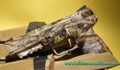 Hydrographic Print  5.7x28mm Pistol Slide & Frame