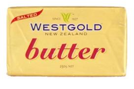 WESTGOLD BUTTER SALTED - $4.50 - NEW ZEALAND