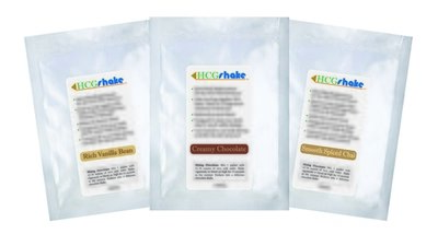 HCG Shake Sample Three Pack