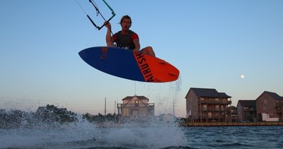 Jet Ski Assisted Kiteboarding Lessons