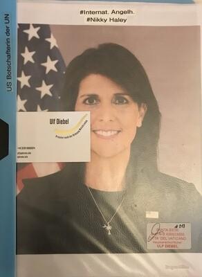 US Botschafterin der UN Nikki Haley