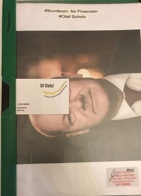 Bundesminister für Finanzen Olaf Scholz