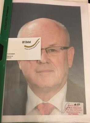 CDU / CSU Fraktionsvorsitzender Volker Kauder