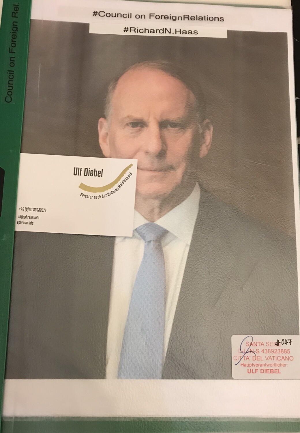 Council on Foreign Relations Richard N. Haass