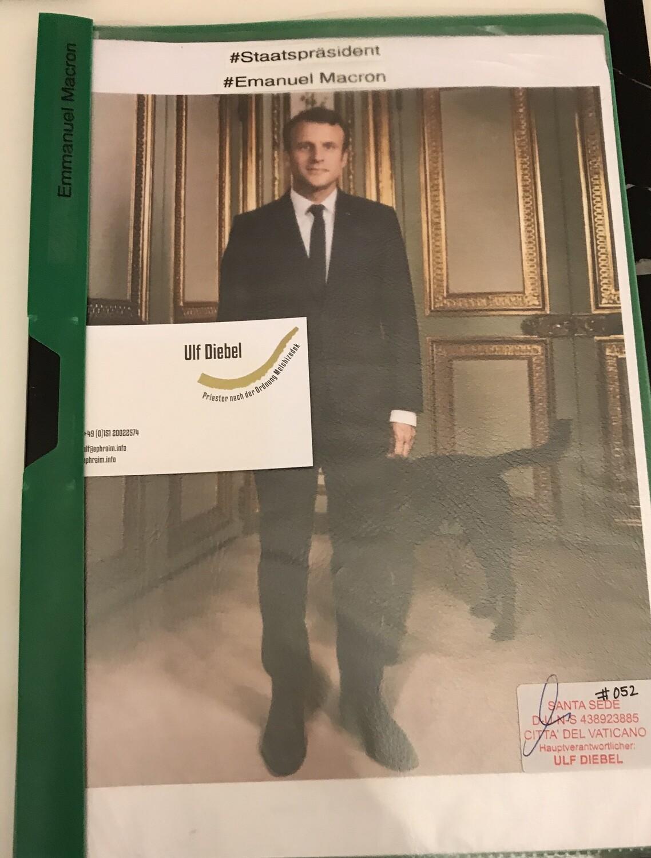 Präsident der Französischen Republik Emmanuel Macron