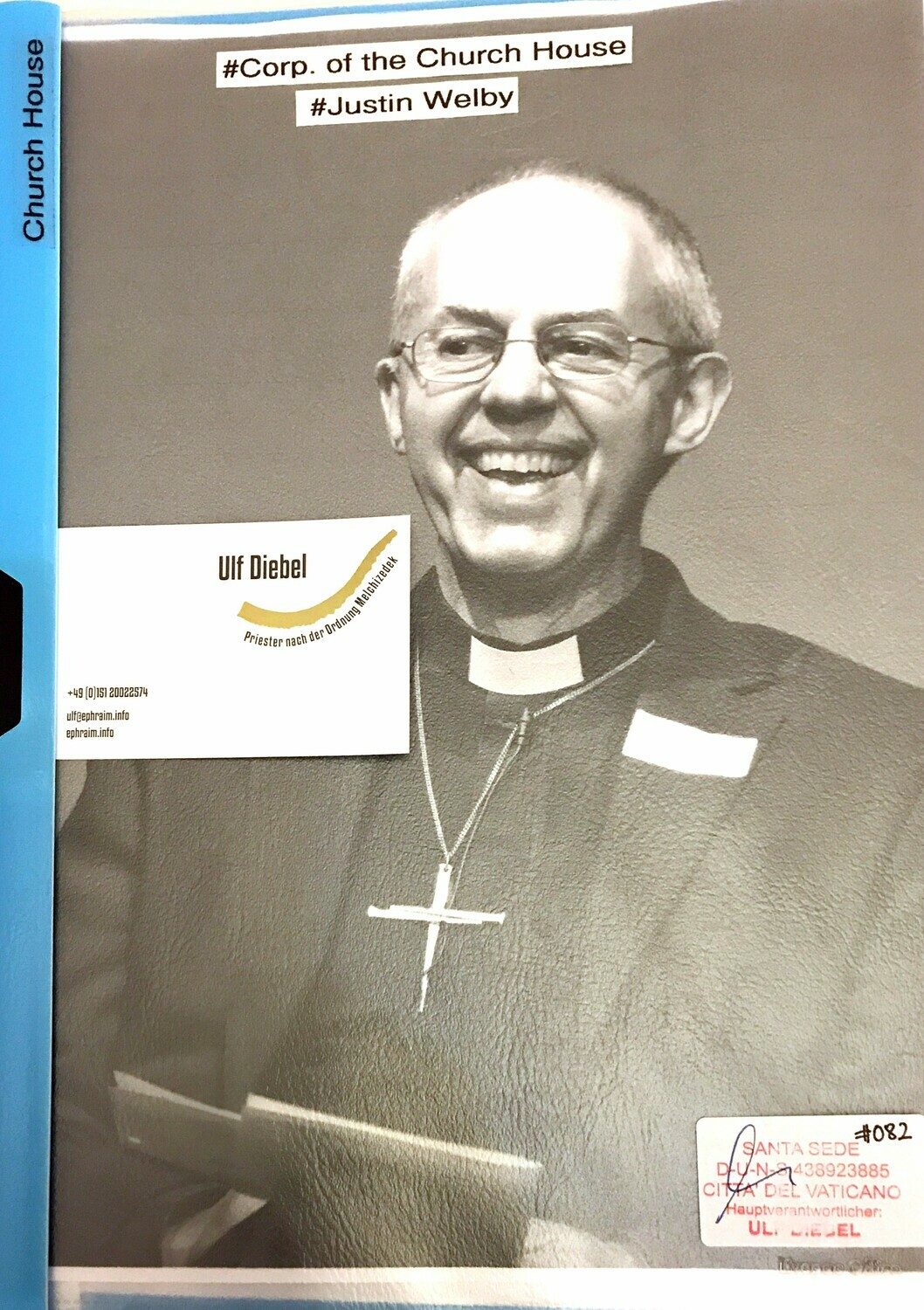 Church House Justin Welby