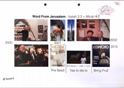 #K0377 l Word From Jerusalem - Isaiah 2.3 + Micah 4.2
