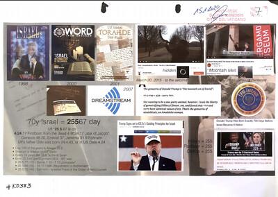 #K0383 l Copyrights - 70 Years Israel