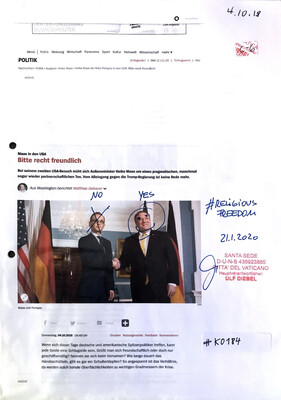 #K0184 l Maas in den USA - Bitte recht freundlich