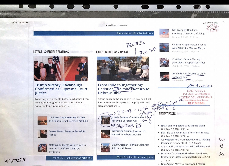 #K0225 l 03.10.18 - Tag der deutschen Einheit l Breaking Israel News: Christian Efraimites Return to Hebrew Bible