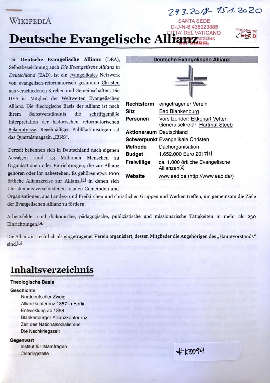 #K0094 l Deutsche Evangelische Allianz