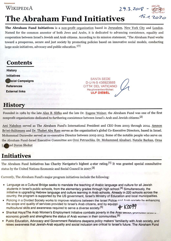 #K0099 l The Abraham Fund Initiatives