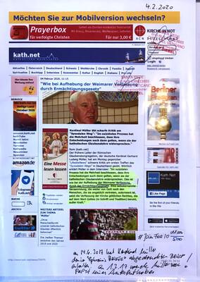 """#U006 l kath.net - """"Wie bei Aufhebung der Weimarer Verfassung durch Ermächtigungsgesetz"""""""