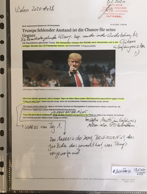 #U014 l Tagesspiegel - Trumps fehlender Anstand ist die Chance für seine Gegner
