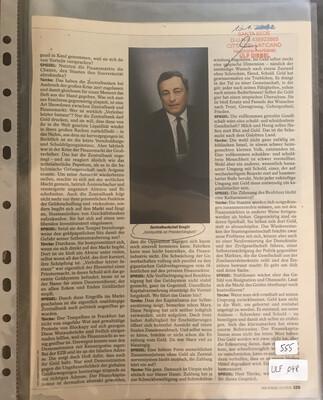 """#U048 l Zentralbankchef Draghi - """"Geldpolitik ist Priestertätigkeit"""""""