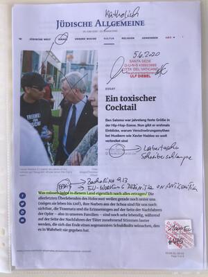 #U75 l Jüdische Allgemeine - Ein toxischer Cocktail
