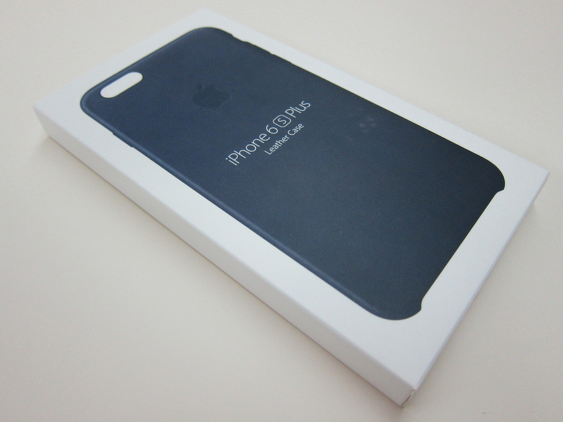 iPhone 6 Plus   6S Plus Leather Case (Черный)