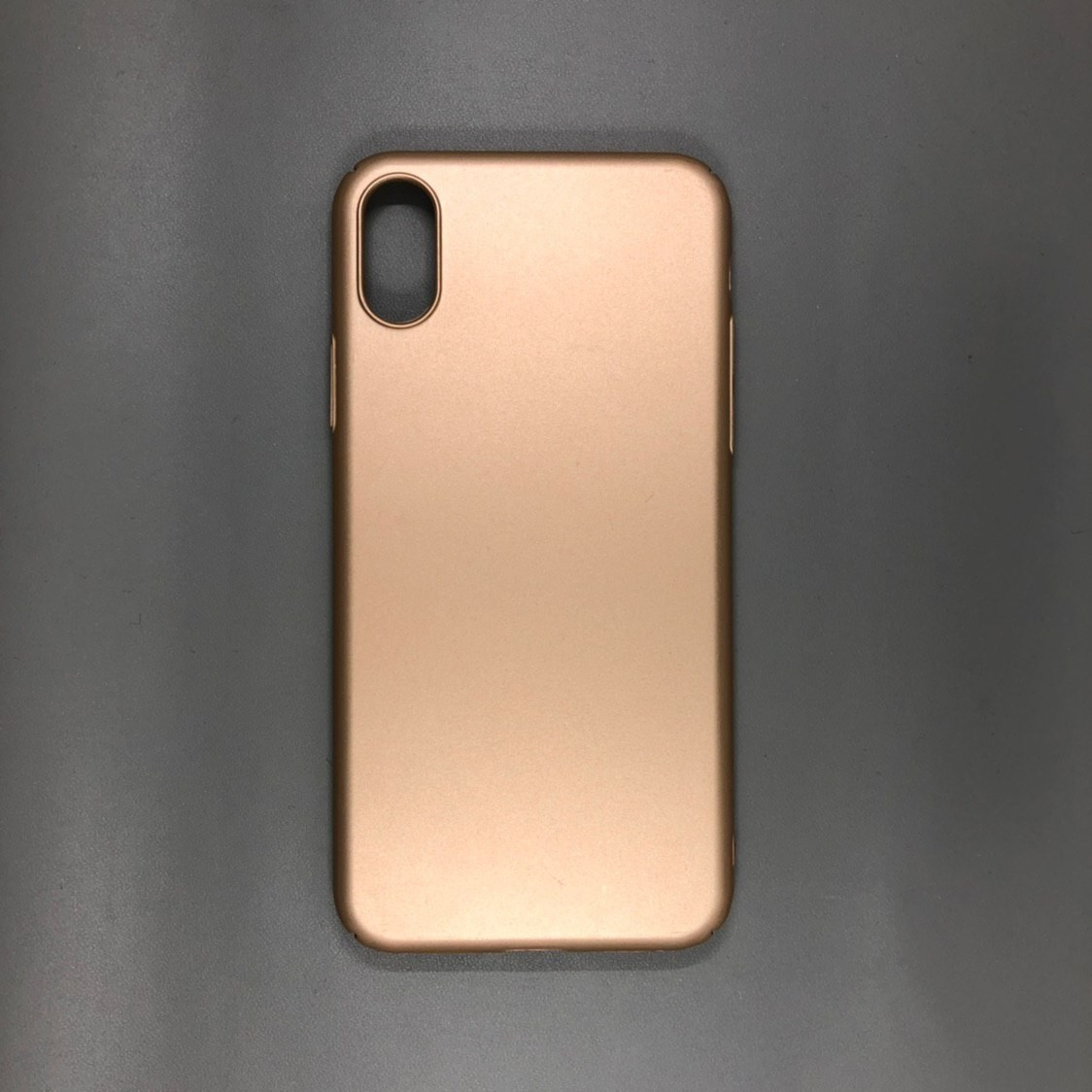 iPhone X Gold TPU