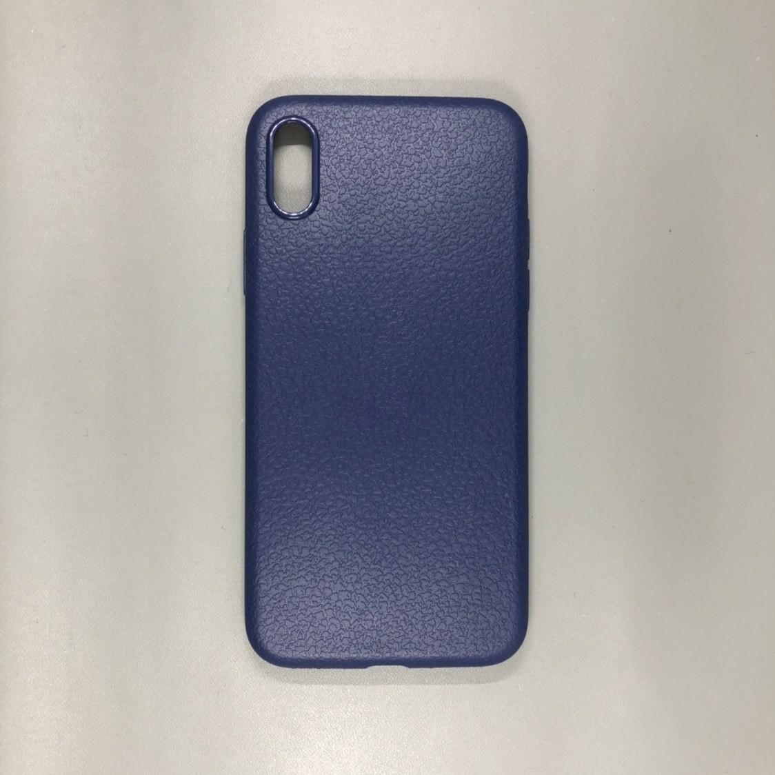 iPhone X Plastic Blue