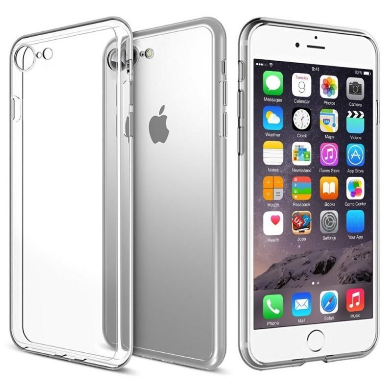 iPhone 6 Plus   6 S Plus Силиконовый Чехол (Прозрачный)