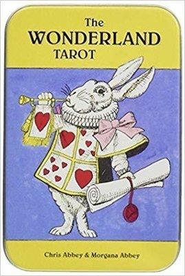 Abbey Chris & Abbey Morgana: The Wonderland Tarot in a Tin Box
