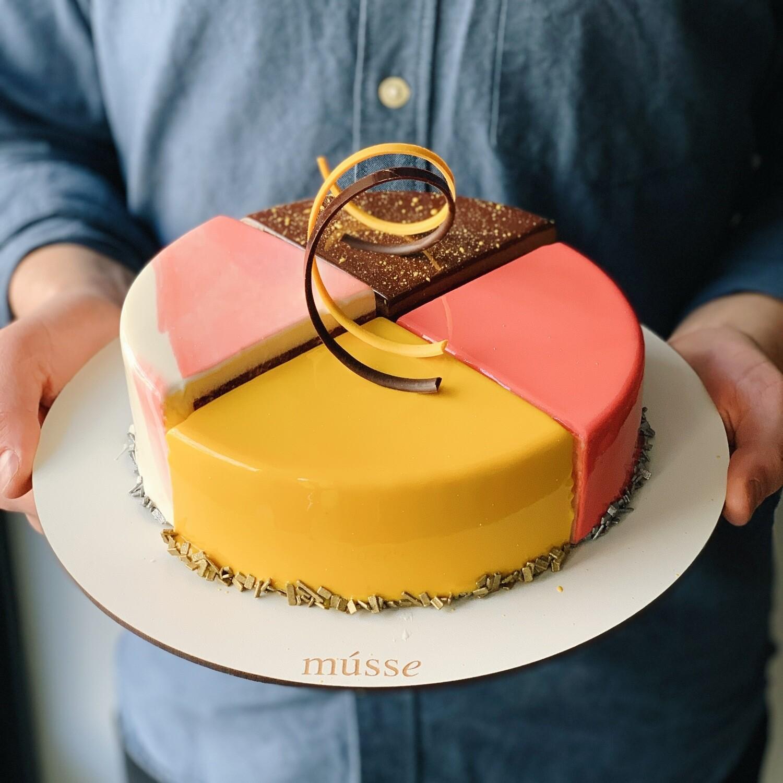 Набір тортів асорті Четвертинки 1кг