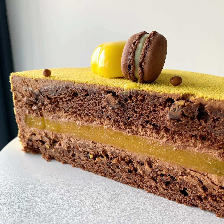 "Торт ""Шоколад-маракуя"" 1,2кг"