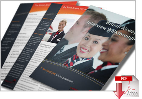 British Airways Application & Interview Cheat Guides with CV Template