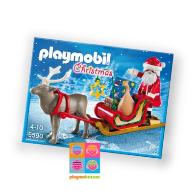5590 Santa's Sleigh with Reindeer 聖誕老人與雪橇 美國版