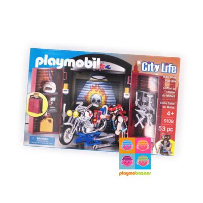 9108 Bike Shop Play Box 電單車店 美國版