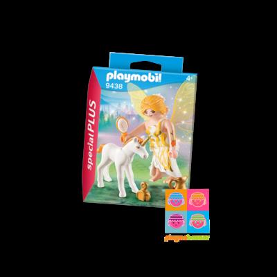 9438 Sun Fairy with Unicorn Foal 太陽仙子與小獨角獸