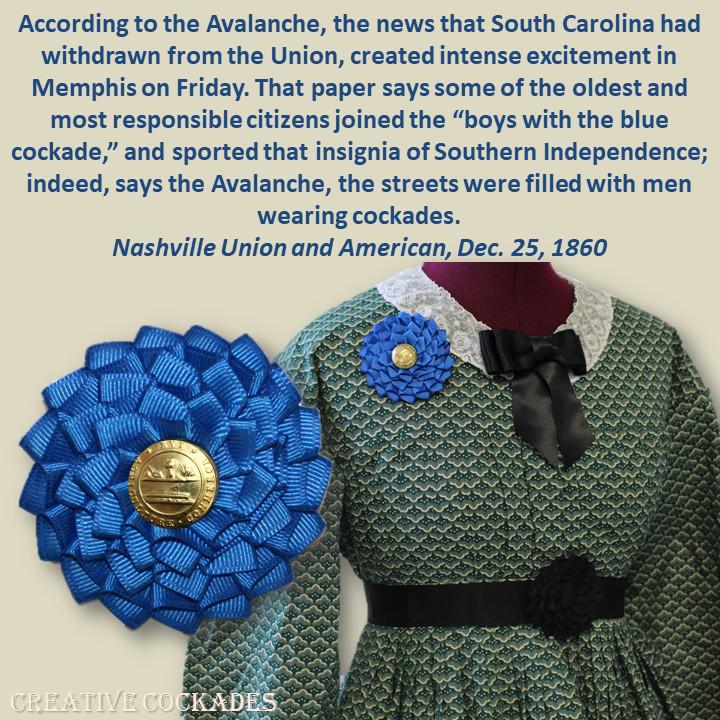 Tennessee Secession Cockade
