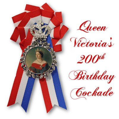 Queen Victoria's 200th Birthday Cockade