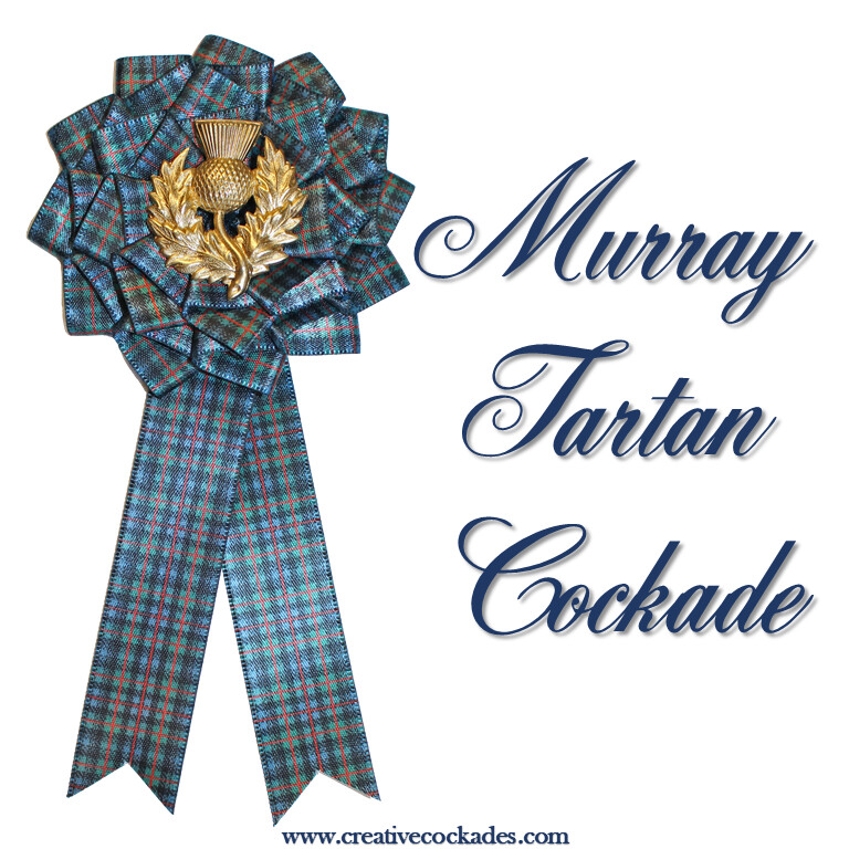 Murray Tartan Cockade