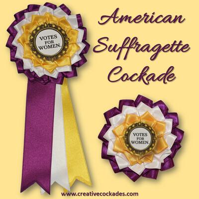 American Suffragette Cockade