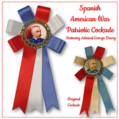 Spanish American Patriotic Cockade