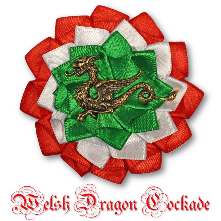 Welsh Dragon Cockade