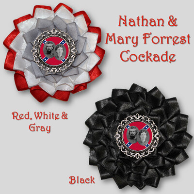 Nathan & Mary Forrest Cockade