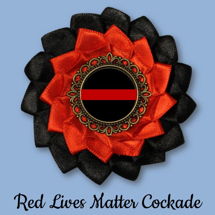 Red Lives Matter Cockade